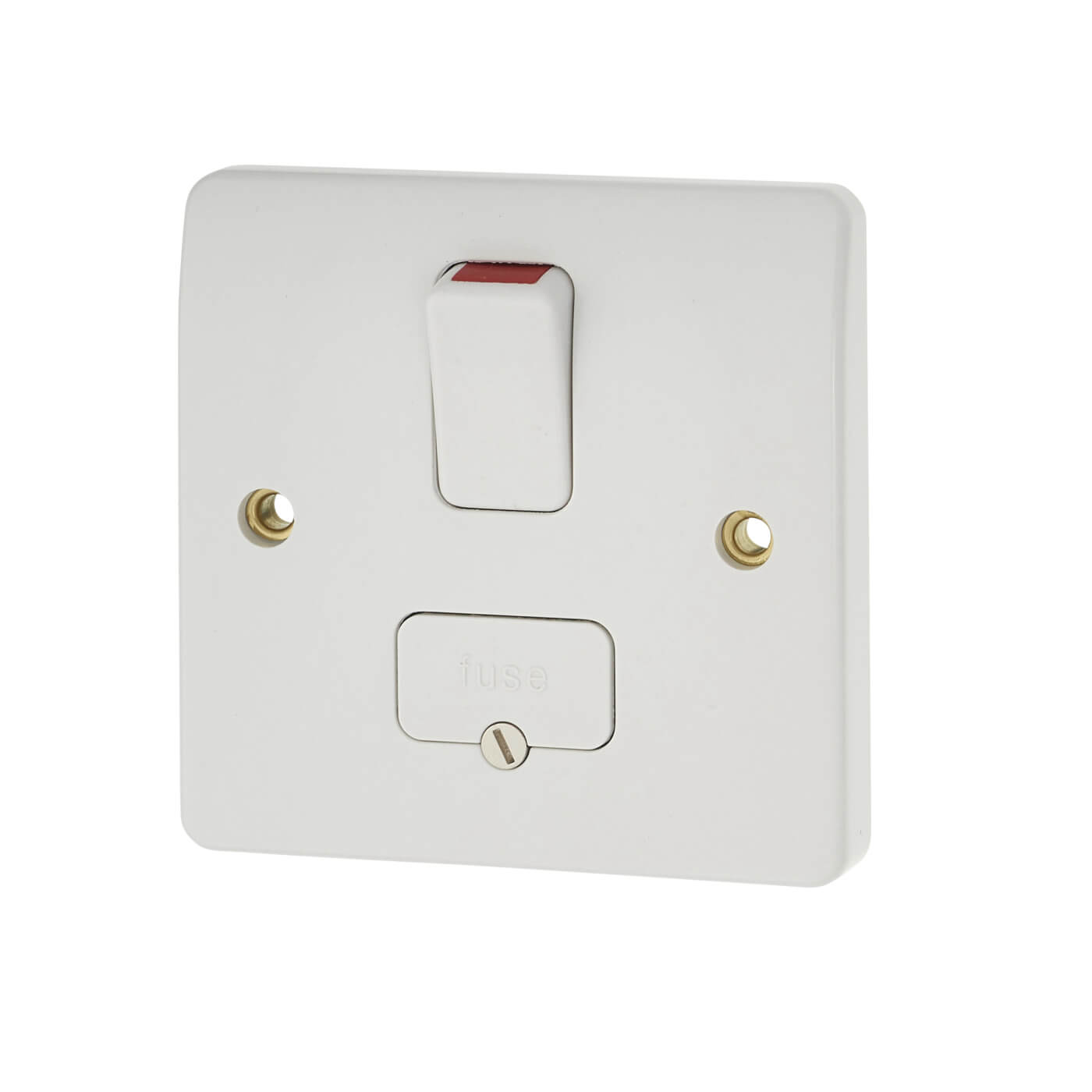 Mk Logic Plus 13a 1 Gang Double Pole Switched Fused Spur