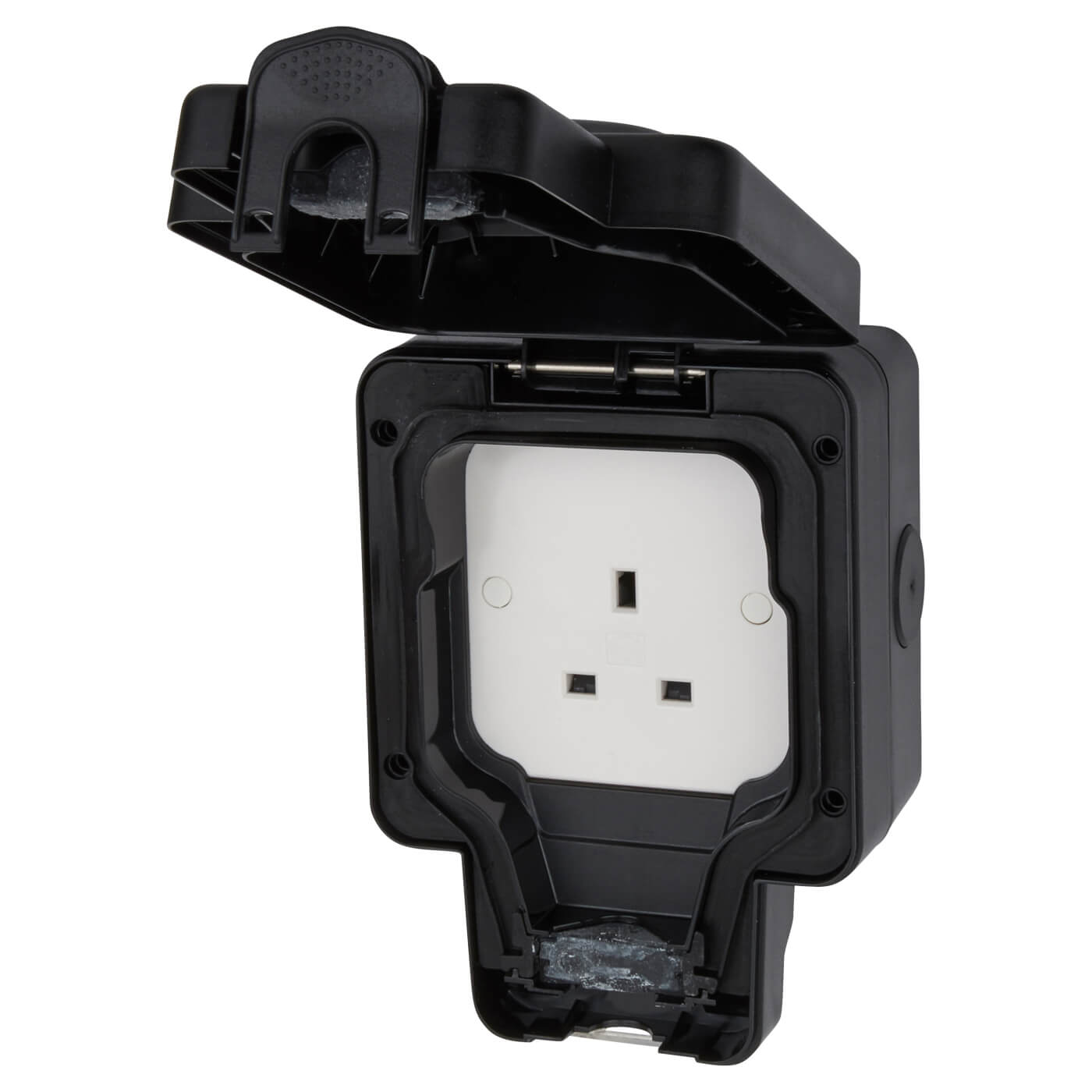 Mk Masterseal Plus 13a Ip66 1 Gang Weatherproof Unswitched Outdoor Wiring Accessories Catalogue Back
