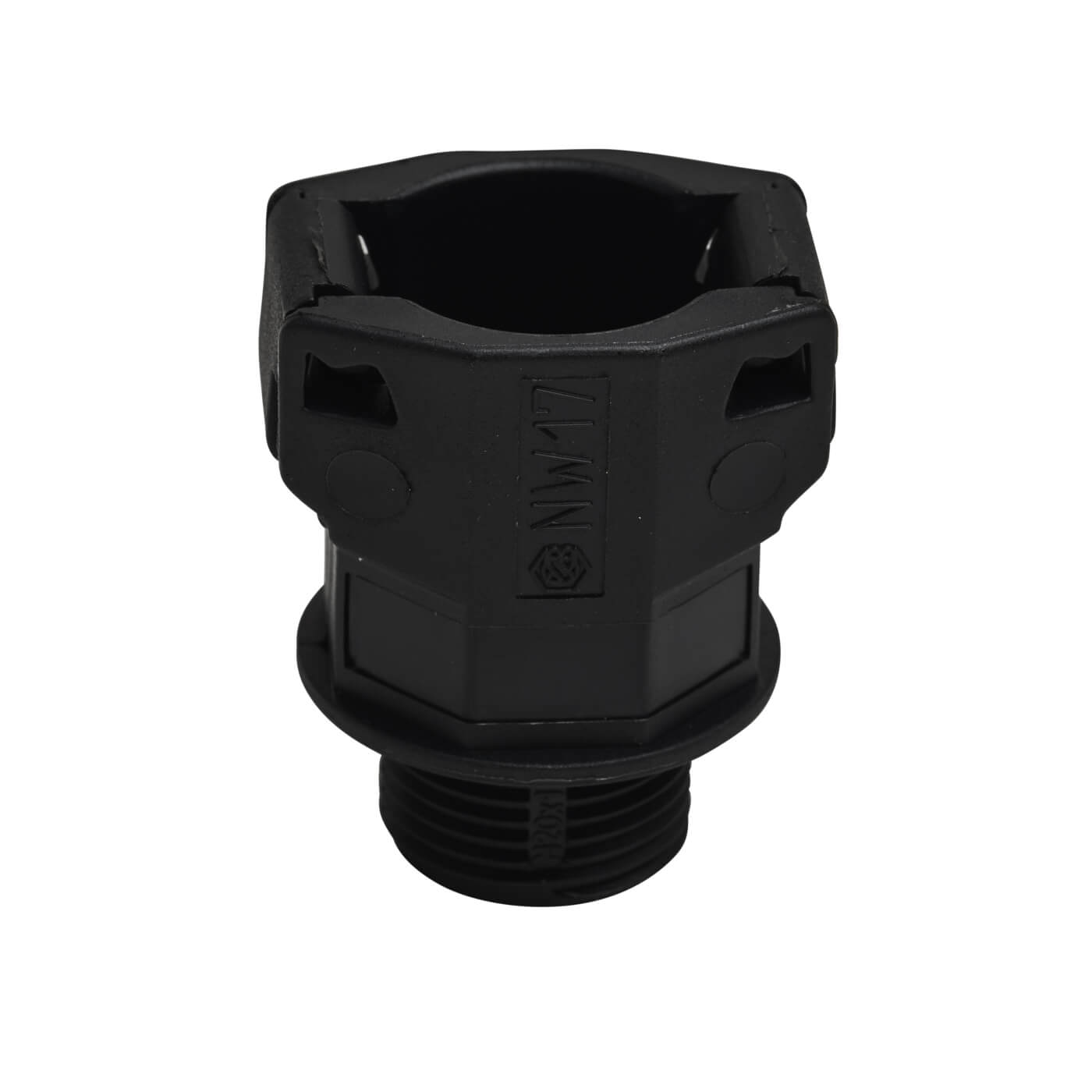 Lsf Flexible Conduit Gland 20mm Black Electricaldirect