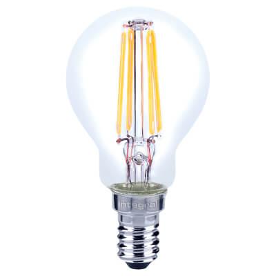 Integral LED 4W Mini Globe Filament Lamp - E14 - 2700K)