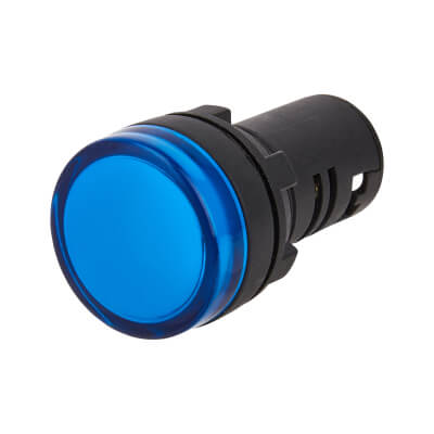 Lewden 22mm Pilot Light - Blue)