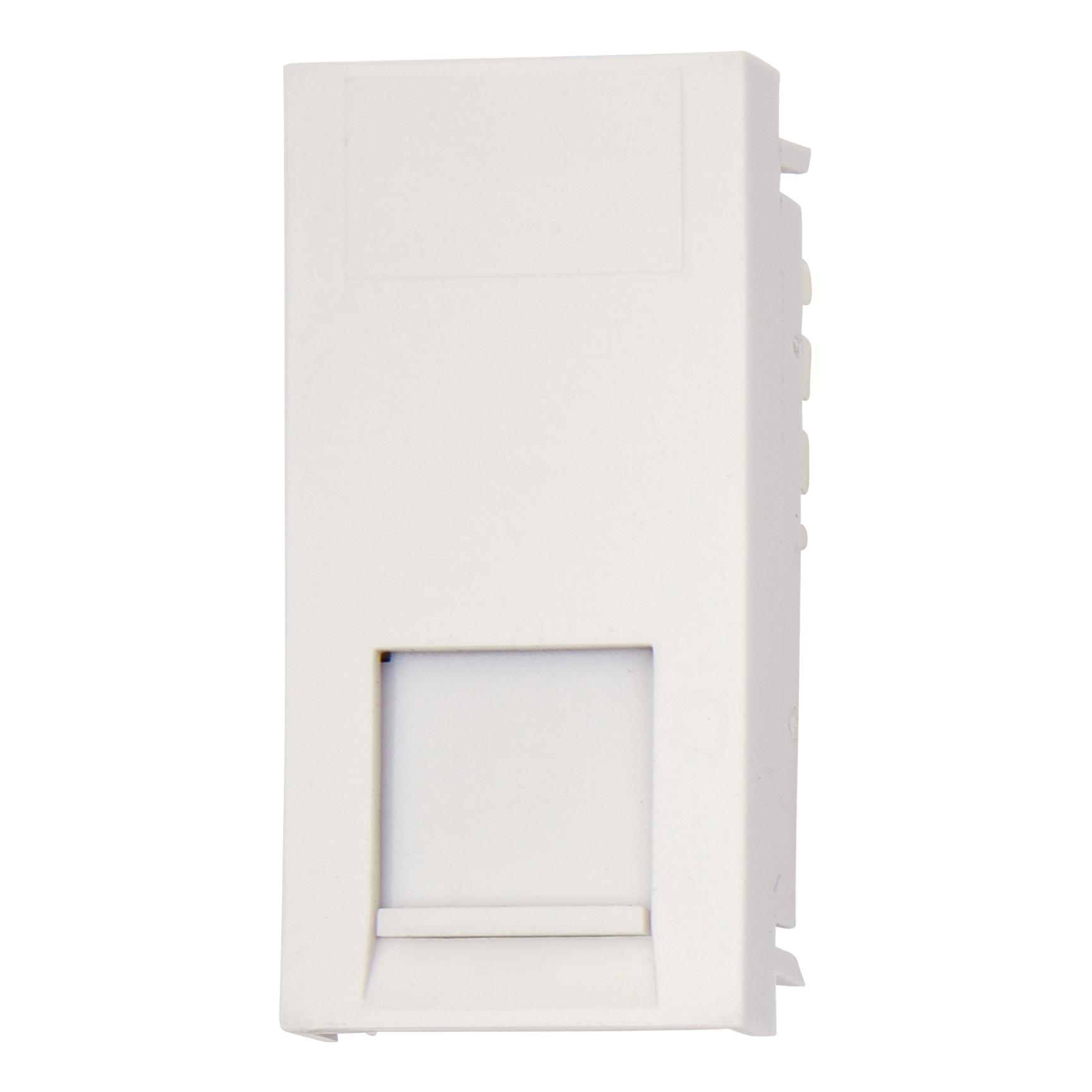 Deta RJ11 Telephone Module - White