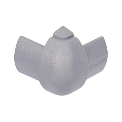 D-Line External Bend - 16 x 8mm - Aluminium
