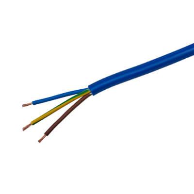 3183AG 3 Core Arctic Grade Cable - 2.5mm² x 10m - Blue