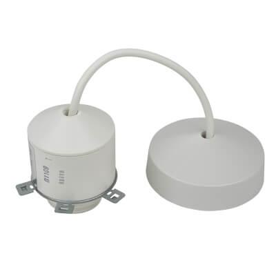 MK 10/13W Low Energy Pendant Set - 6 Inch - White