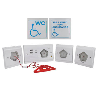 Disabled Persons Toilet Alarm Kit