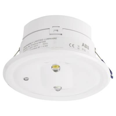 Emergi-Lite PrimEvo 3W Recessed LED Emergency Downlight - IP20
