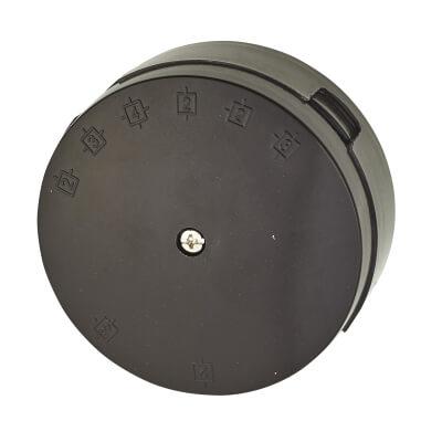BG 20A 89mm 6 Terminal Junction Box - Brown)