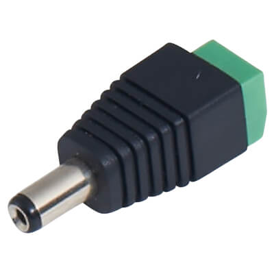Qvis DC Male Power Connector