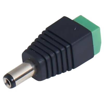 Qvis DC Plug Adaptor - CAT5 to 4 Way PSU
