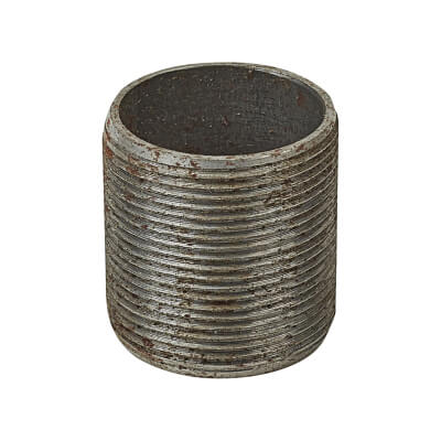 Steel Conduit Nipples - 32mm - Galvanised