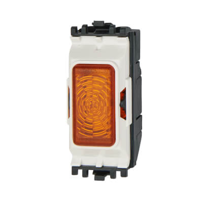 MK 200-250V Indicator Unit Grid Switch - Amber