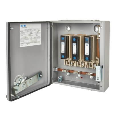Eaton MEM 63A 415V TPN 3 Phase Fuse Switch Disconnector)