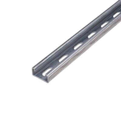 Slotted Unistrut - Heavy Gauge - 41 x 21mm - 3000mm)