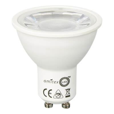 Amitex 4W LED GU10 Starbright Spotlight Lamp - Warm White