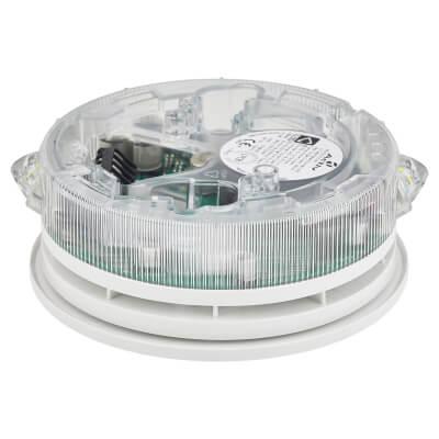 C-TEC Conventional O-R-3-2.5-17 VAD Sounder Base - Light Distribution