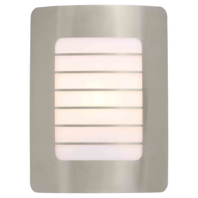 Stanley Panel Wall Light - Stainless Steel)