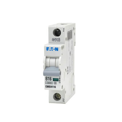 Eaton MEM 16A Single Pole 3 Phase MCB - Type B)