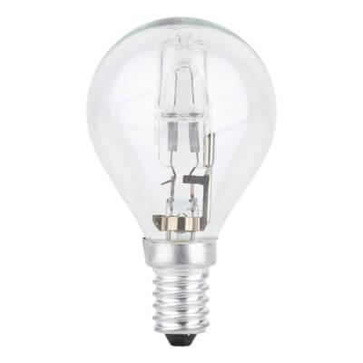 42W SES Golf Ball Lamp - Warm White)