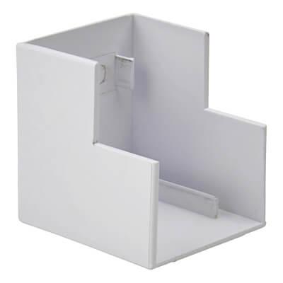 Marco Mini Trunking External Angle - 25 x 40mm - White)