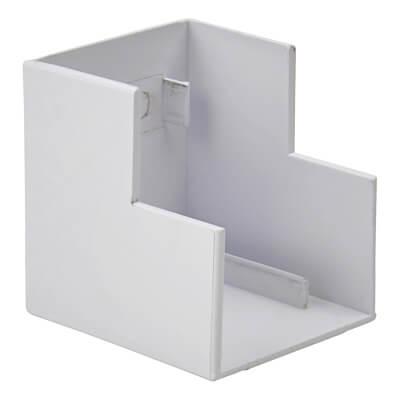 Marco Mini Trunking External Angle - 25 x 40mm - White)
