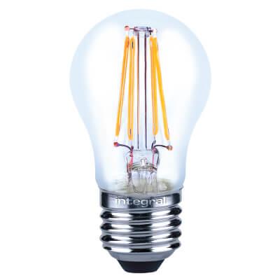 Integral LED 4W Mini Globe Filament Lamp - E27 - 2700K )