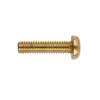 Pan Head Screw - M4 x 16mm - Brass - Pack 100)