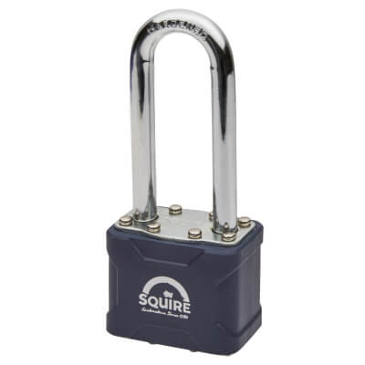 Squire Stronglock Long Shackle Padlock - 44 x 24mm - Keyed to Differ