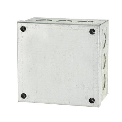 Adaptable Back Box - 4 x 4 x 2 Inch - Galvanised