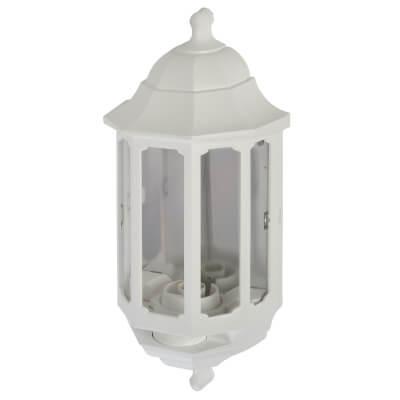 ASD Lighting Half Coach Lantern - White)