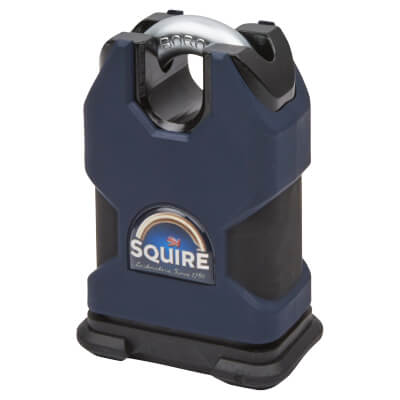 Squire High Security Closed Shackle Padlock - 50mm - Keyed To Differ)