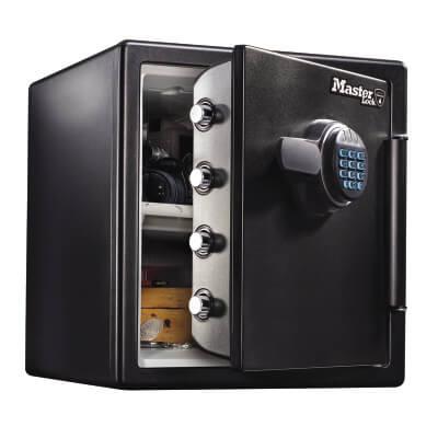 Masterlock Fire & Water Resistant Safe - 1 hour - 491 x 415 x 453mm - 34 Litre )