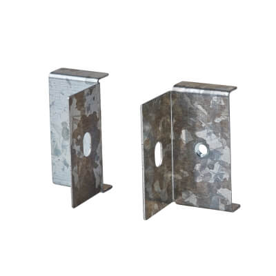 Flange Outlet - 50 x 50mm - Galvanised 