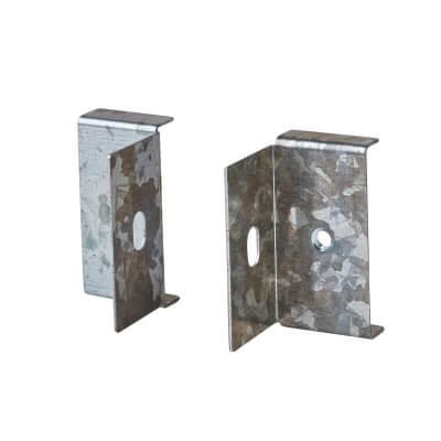 Flange Outlet - 50 x 50mm - Galvanised