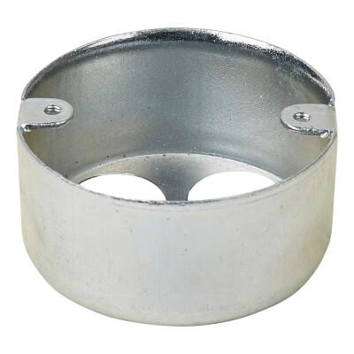 Steel Conduit Looping In Box - 4 Hole - 20mm - Galvanised