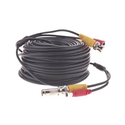 Yale Easy Fit CCTV BNC Extension Cable - 15m)