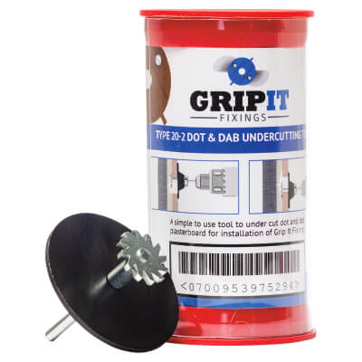 Grip It Dot and Dab Kit - Brown - 20mm