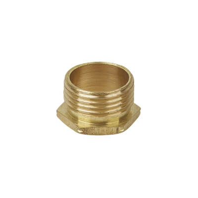 Male Brass Bush - 20mm - Short