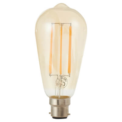 6W LED Vintage Lamp - BC - Tinted)