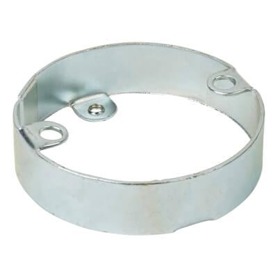 Steel Conduit Extension Ring - 16mm - Galvanised