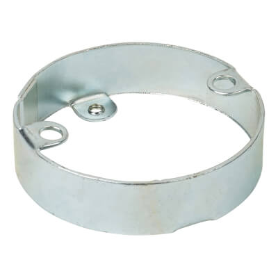 Steel Conduit Extension Ring - 16mm - Galvanised