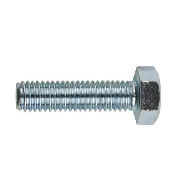 Hexagon Bolt - M8 x 30mm - Zinc Plated - Pack 10