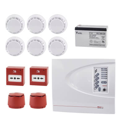 ESP 2 Zone Conventional Alarm Kit)
