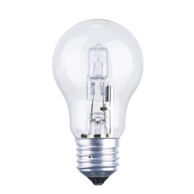 42W ES GLS Halogen Lamp - Dimmable - Clear