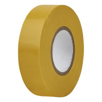 Directa 19mm Roll PVC Tape 20m - Yellow)