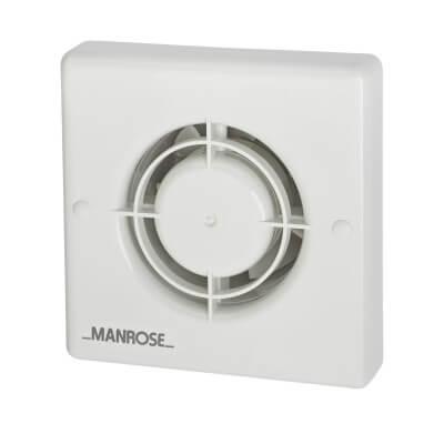 Manrose XF100H 4 Inch Axial Humidistat Extractor Fan)