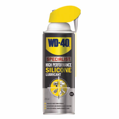 WD-40 High Performance Silicone Lubricant - 250ml)