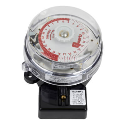 Quartz 24 Hr Timer Switch - 20A - 4 Pin)