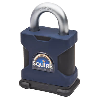 Maximum Security Open Shackle Padlock - 65mm - Keyed to Differ