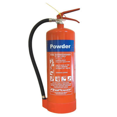 Dry Powder Fire Extinguisher - 9 Litre)